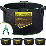 Magarz 4-Pack 100 GallonFabric Flower Pots