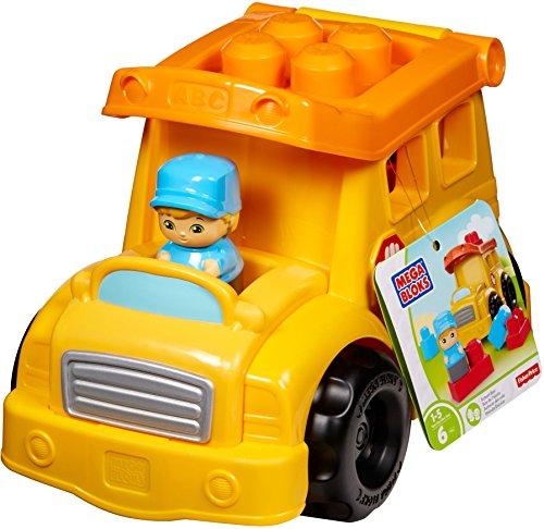 Mega Bloks  Autocar del Cole Juego de Bloques