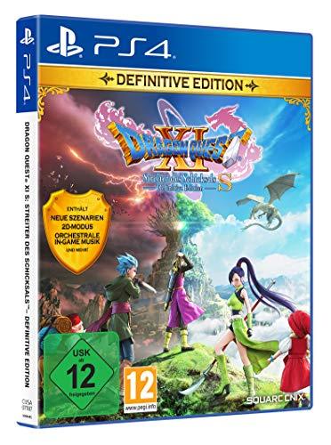 ACCGUYS Dragon Quest XI S: Streiter des Schicksals - Definitive Edition (PS4) CD-ROM – 2020/12/4