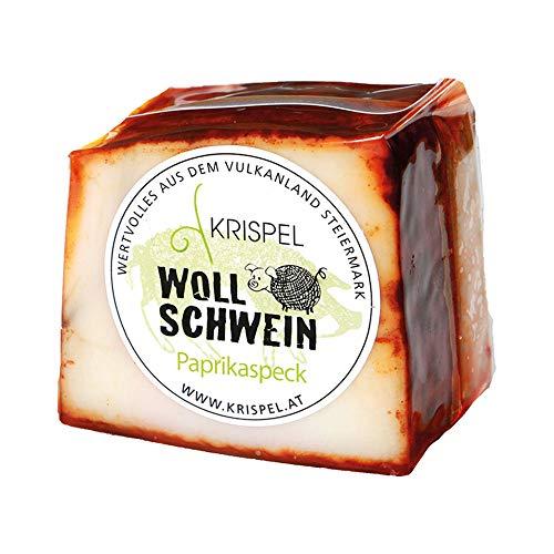 Wollschwein Paprika Speck, im Stück (250g)