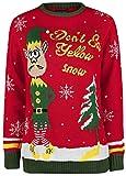 dont eat yellow snow Elf Weihnachtspullover
