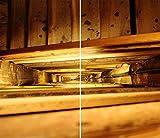 DAMU  ceranfeldabdeckung 2Piezas 2x 30x 52cm Cubiertas Vintage eléctrico Horno Cocina de inducción para Libro de protección contra Salpicaduras Placa de Cristal Tabla de Cortar Marrón