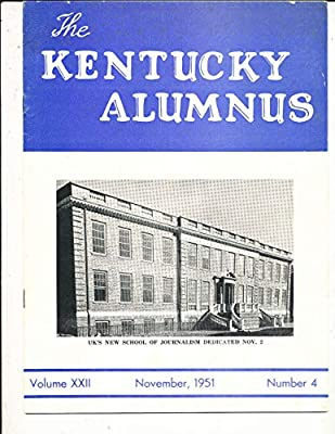 11/51 The Kentucky Alumnus Kentucky Football
