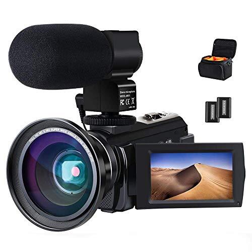 Caméra vidéo Caméscope 4K ACTITOP Full HD WiFi 48MP