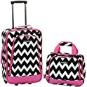 2-Pieces Rockland Fashion Softside Upright Luggage Set