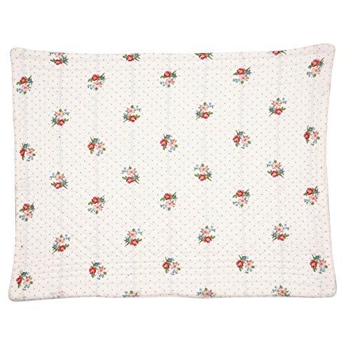 GreenGate Tischset EJA Weiß Blumen Baumwolle 35x45 cm Platzset