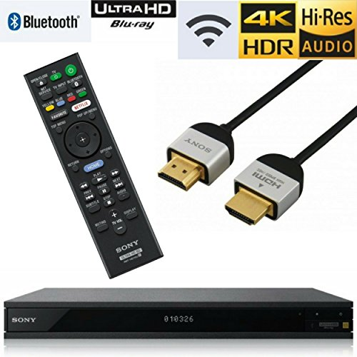 Best Bargain Sony UBP-X800 Streaming 4K Ultra HD 3D Hi-Res Audio Wi-Fi and Bluetooth Built-in Blu-ra...