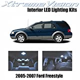 2006 Ford Freestyle Camshafts & Components - Xtremevision Interior LED for Ford Freestyle 2005-2007 (4 Pieces) Cool White Interior LED Kit + Installation Tool