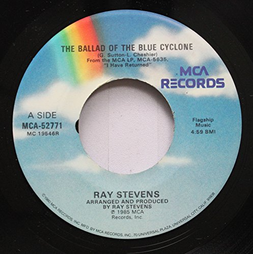 Ray Stevens 45 RPM The Ballad of the Blue Cyclone / Vacation Bible School