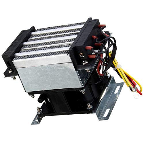 Camisin Calentadores eléctricos de temperatura constante industrial PTC calentador de ventilador 300W 220V AC incubadora de aire calentador dispositivo de secado