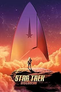 Pyramid America Star Trek Discovery Sky Badge Cool Wall Decor Art Print Poster 24x36