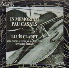 In Memoriam Pau Pablo Casals - Transcriptions for Cello Ensemble