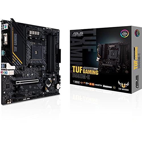 ASUS TUF Gaming B550M E AMD B550 Emplacement AM4 Micro ATX Carte mère