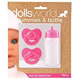 Dolls World 8511 - Chupetes y biberón