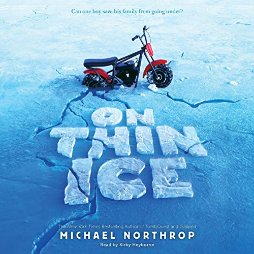 On Thin Ice audiobook cover art