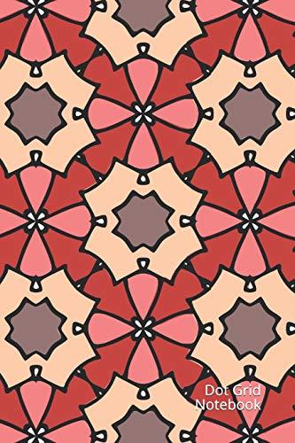 Dot Grid Notebook: Journal Moroccan Tiles - Punktraster Notizbuch 120 Seiten