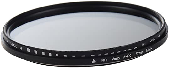 Andifany 77mm Adjustable Neutral Density Fader Filter ND2 ND400