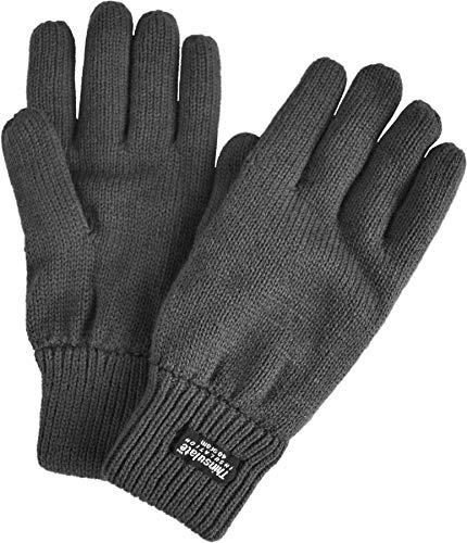 normani Strick Fingerhandschuhe mit Thinsulatefütterung Winterhandschuhe Farbe Anthrazit Größe L