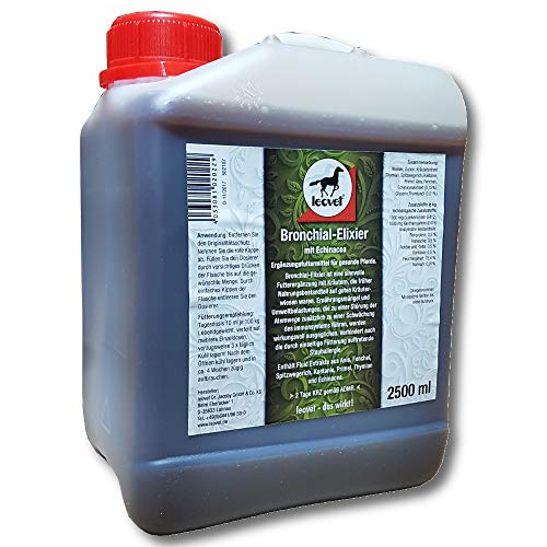 LEOVET BRONCHIAL ELIXIER, 2500 ml