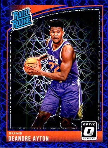 2018-19 Donruss Optic Blue Velocity #157 Deandre Ayton Rated Rookie Phoenix Suns NBA Basketball Trading Card