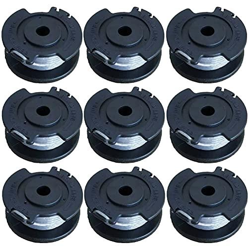 Odashen Lot de 9 bobines de fil de rechange pour débroussailleuse Bosch EasyGrassCut 23 26 18 18-230 18-260 18-26 F016800569 18 V