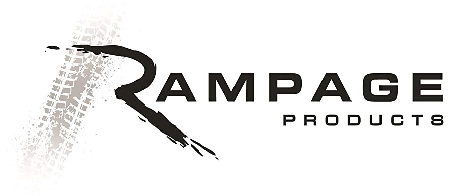 RAMPAGE PRODUCTS 75006 Black Billet Style Fuel Door Cover for 1997-2006 Jeep Wrangler TJ