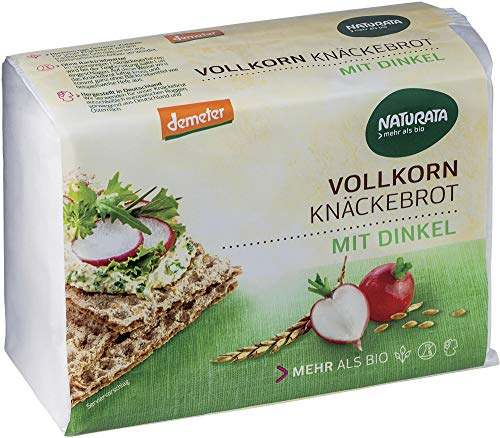 Naturata Bio Vollkorn-Knäckebrot mit Dinkel (2 x 250 gr)