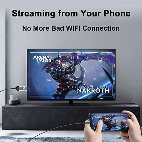 Kdely USB C zu HDMI-Kabel, USB Typ C zu HDMI-Kabel[Thunderbolt 3 kompatibel] für MacBook Pro/Air/iPad Pro 2019/2018/Surface Book 2/Samsung S20 Ultra/S20+/S20/S10/Note 20 Ultra/Note20/10/Huawei P40 Pro