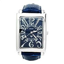 [ミッシェルジョルダン] 腕時計 スポーツ ダイヤモンド レザー SG3000-8 ブルー