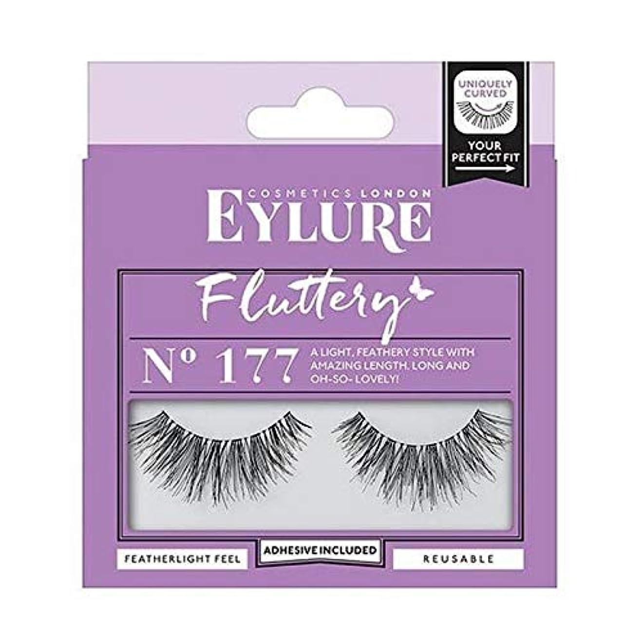 革新位置する仲良し[Eylure] Eylureストリップは震えていないのまつげ。 177 - Eylure Strip Lashes Fluttery No. 177 [並行輸入品]