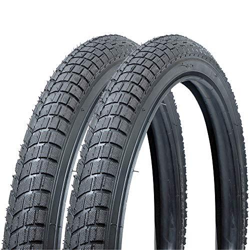Fincci Paar Reifen für BMX oder Kinder Fahrrad 20 x 1,95