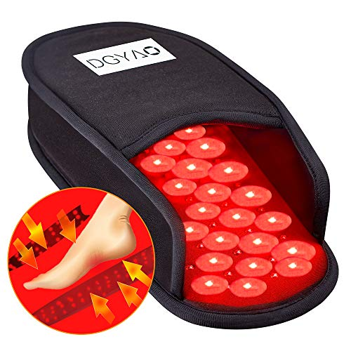 Lowest Prices! Red Infrared Light Therapy Devices Slipper for Foot Feet Toes Instep Pain Relief