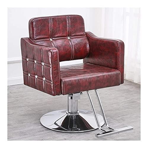Sillas de peluquero para peluquero, sillón de salón de bel