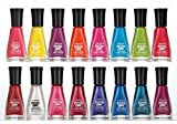 Lot of 7 Insta-dri Sally Hansen Finger Nail Polish No Repeat Colors FAST DRY FINGERNAIL POLISH