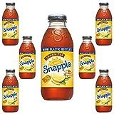 Snapple Iced Tea With Lemon, 16oz Bottle (Pack of 8, Total of 128 Fl Oz)