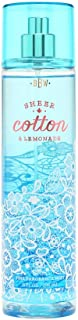 Bath and Body Works Fine Fragrance Mist Sheer Cotton and Lemonade 8 Ounce Full Size Spray