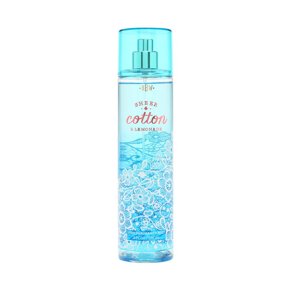 Bath and Body Works Fine Cotton Fragrance Mist Lemonad Fixed price for Max 41% OFF sale Sheer