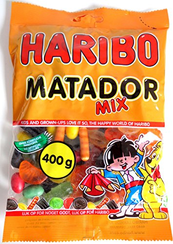10 x HARIBO MATADOR MIX 400g Incl. Goodie von Flensburger Handel