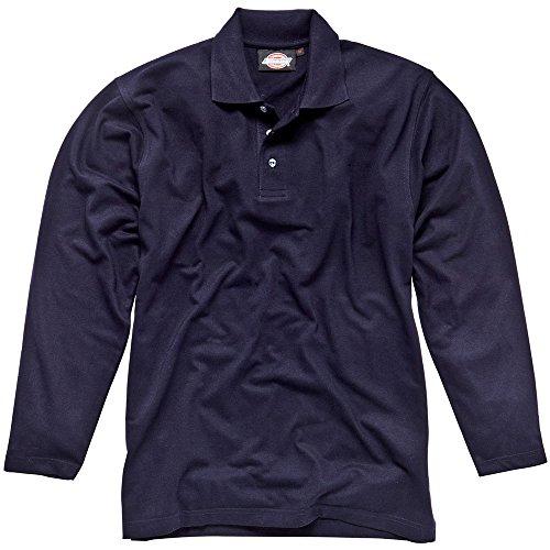 Dickies Langärmeliges Polo-Shirt navy NV XXL, SH21100