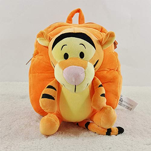 Toys Disney Plush Children's Baby Backpack Mickey Mouse Minnie Bag Donald Duck Stitch Winnie The Pooh Boy Girl Kindergarten Schoolbag (Color : A)