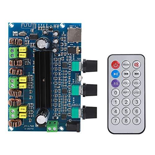 Placa Amplificadora Bluetooth, DC 12-24V, 100W + 50W X 2, Placa Amplificadora de Potencia Digital, Módulo Potenciómetro de Alta Potencia 2.1 Canales Jy760, Amplificador Digital
