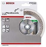 Bosch Professional Diamanttrennscheibe Best für Hard Ceramic (Fliesen, 115 x 22,23 mm, Zubehör Winkelschleifer)