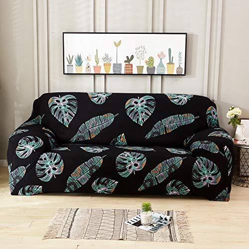 ASCV Funda de sofá de Sala de Estar geométrica Multicolor Material elástico Funda de sofá de Dos plazas Funda de sofá Funda de sofá A2 4 plazas