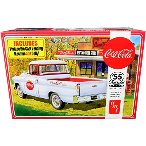 AMT1955 Chevy Cameo Pickup (Coca-Cola) 1:25 Scale Model Kit Colorado