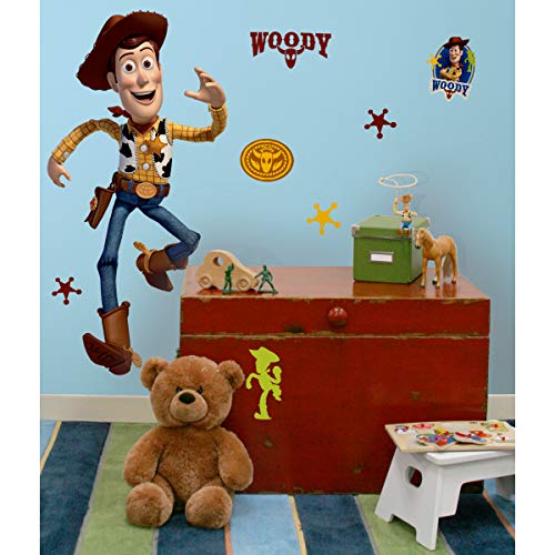 RoomMates Toy Story Woody Giant Peel and Stick Wall Decal - RMK1430GM