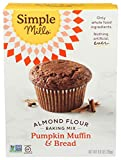 Simple Mills Almond Flour Baking Mix, Gluten Free Pumpkin Bread Mix 9oz