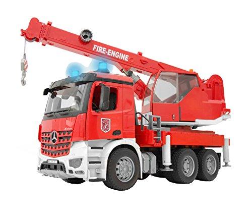 bruder 3675 Fahrzeug Mercedes Benz Arocs Feuerwehr-Kran