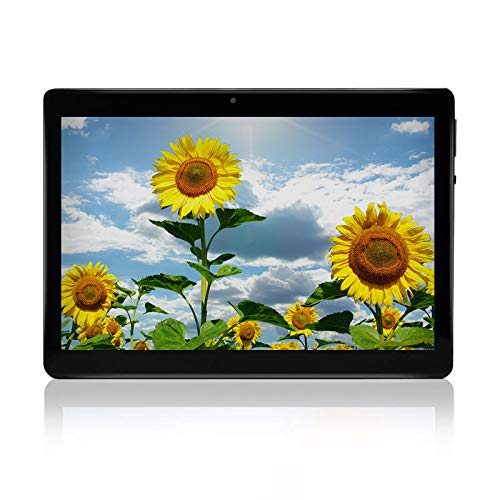 HOPESUNIN Tableta Android de 10 Pulgadas con Android 10.0 Ultra-Fast, 4GB RAM, 64GB ROM-certificación gsm de Google, ultradelgada 8000 mAh/WiFi/5 MP 8 MP/Type- C (Negro)