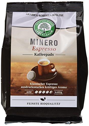 Lebensbaum Bio Minero Espresso Pads, 5er Pack (5 x 126 g)