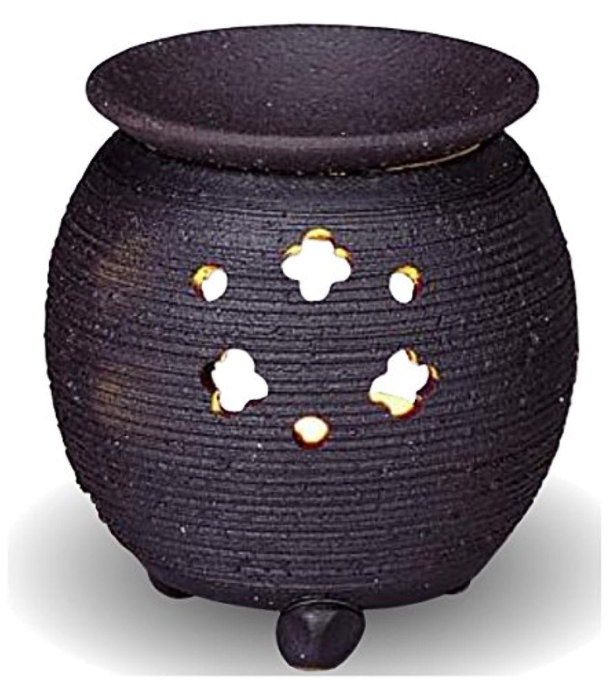 機構に利益常滑焼 茶香炉(アロマポット)径10×高さ10.5cm